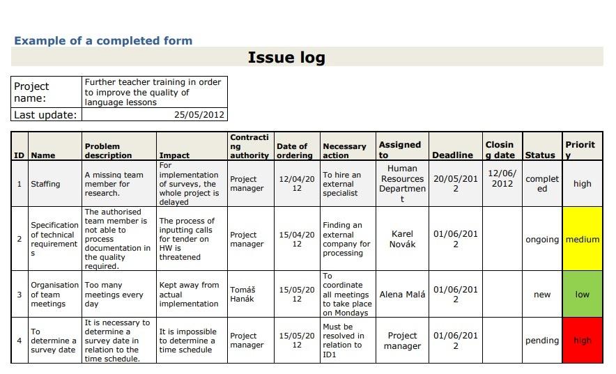 Free Issue Tracking Templates   Smartsheet